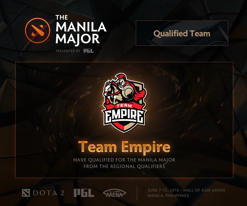 Kết thúc vòng loại The Manila Major 2016