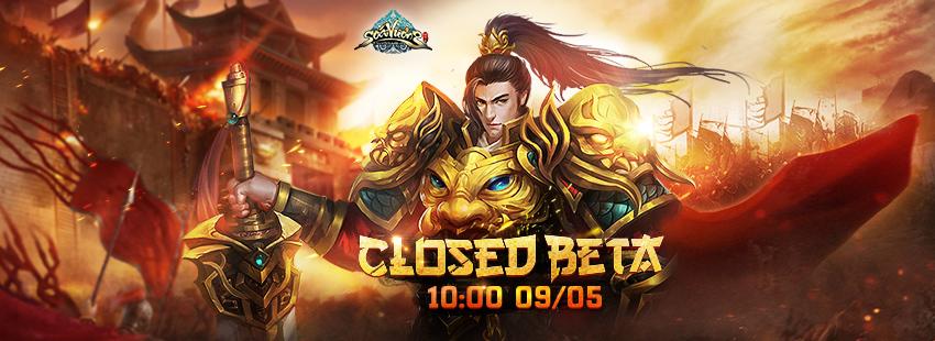 Tặng giftcode Soái Vương phiên bản Closed Beta