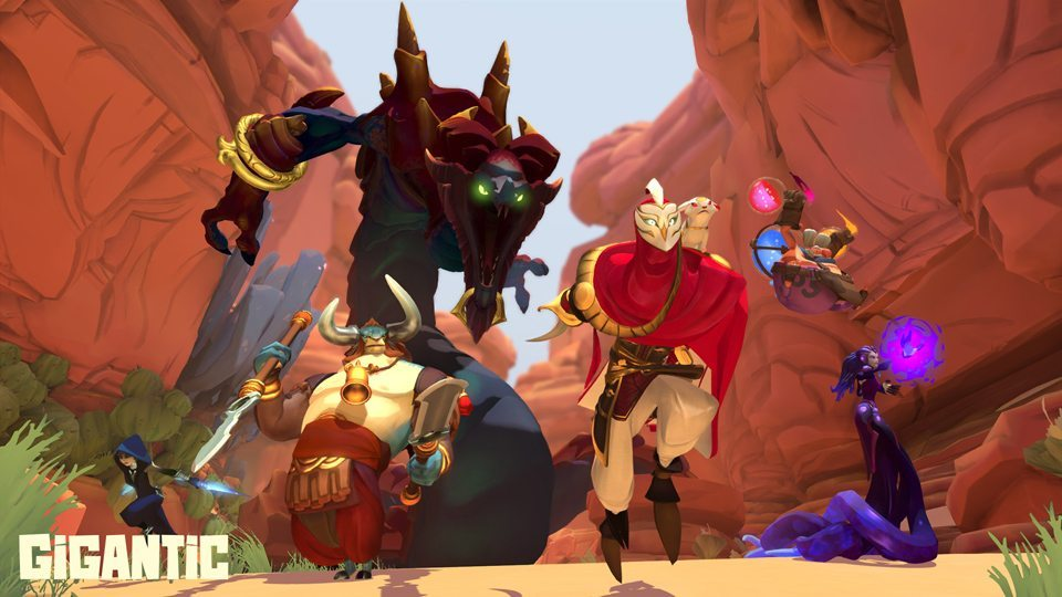 Perfect World Entertainment phát hành MOBA Gigantic của Motiga