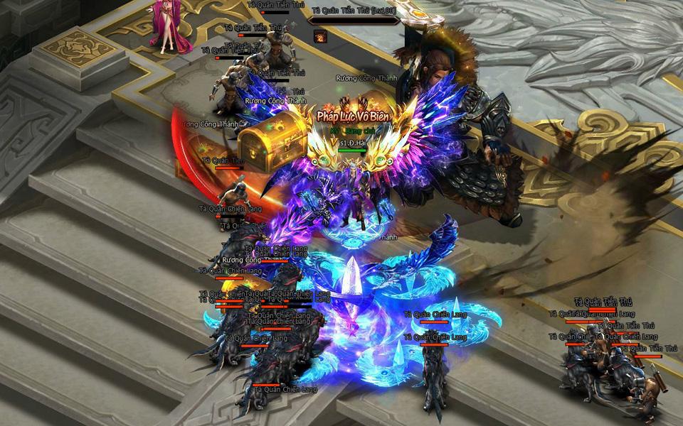 VNG phát hành webgame mới Kiếm Vũ