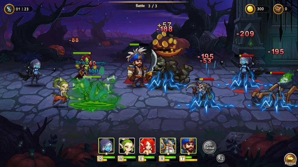 Star of Heroes, webgame Dota Truyền Kỳ, có mặt trên toàn cầu
