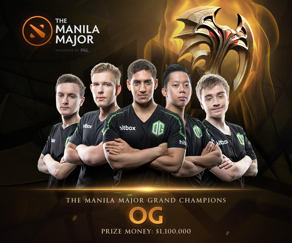 OG là đội tuyển đầu tiên vô địch 2 giải đấu do Valve tổ chức. Ảnh: xxx
