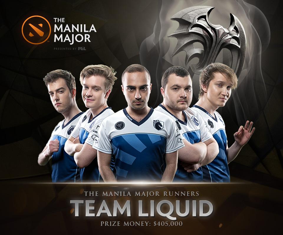 """Team Liquid lần thứ hai lọt vào trận chung kết tổng nhưng lại """"gục ngã trước cửa thiên đường. Ảnh: xxx"""