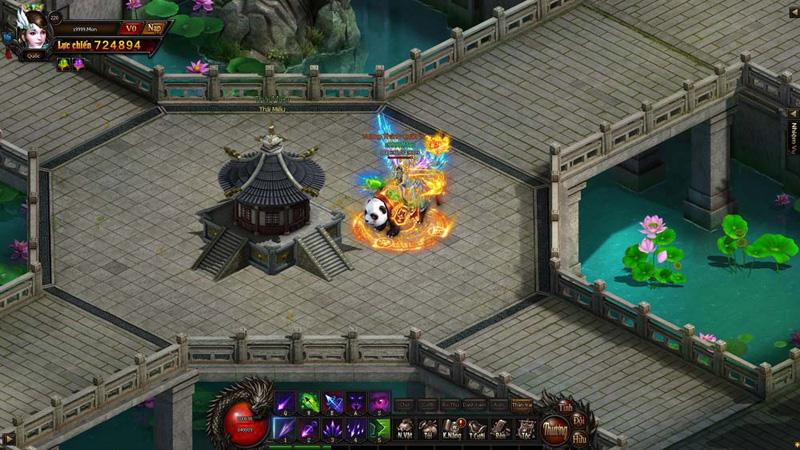 Một số hình ảnh về webgame Vương Giả