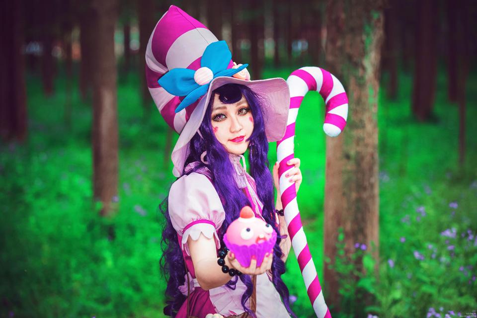Cosplay Lulu Bánh Ngọt cực dễ thương của Cửu Nguyệt Yêu
