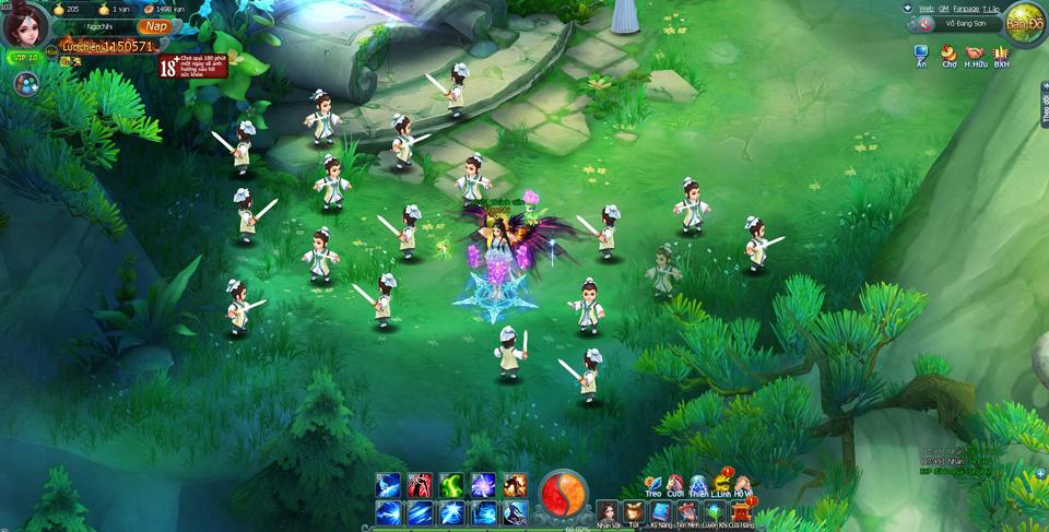 VNG thử nghiệm webgame mới Thục Sơn Vô Song