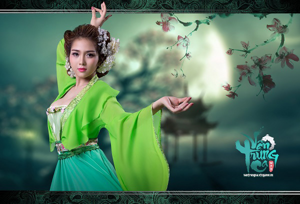 Ny Saki hóa thân thành Vân Ca chào đón Vân Trung Ca ra mắt