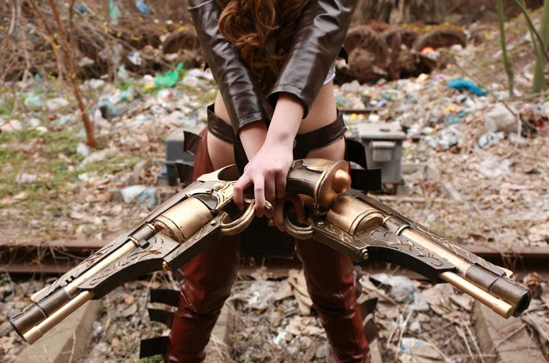 Ngắm cosplay Miss Fortune Nữ Cao Bồi cực quyến rũ
