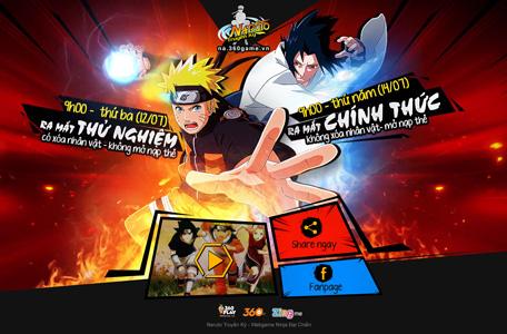 VNG phát hành webgame mới Naruto Truyền Kỳ 10