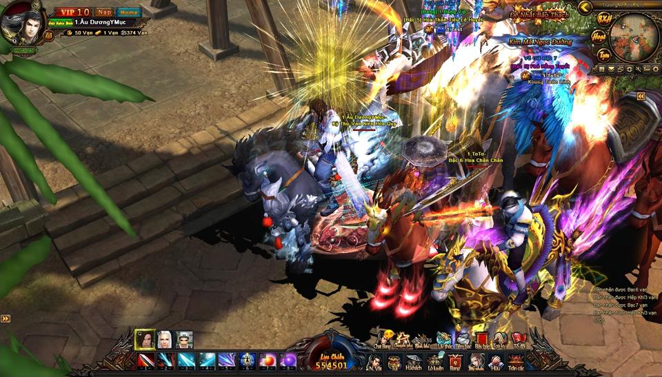 Webgame Sở Lưu Hương 3D mở cửa Alpha Test vào 15/7
