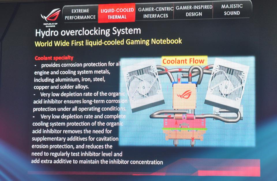 ASUS giới thiệu siêu phẩm ROG GX700 dành cho game thủ - Ảnh 07
