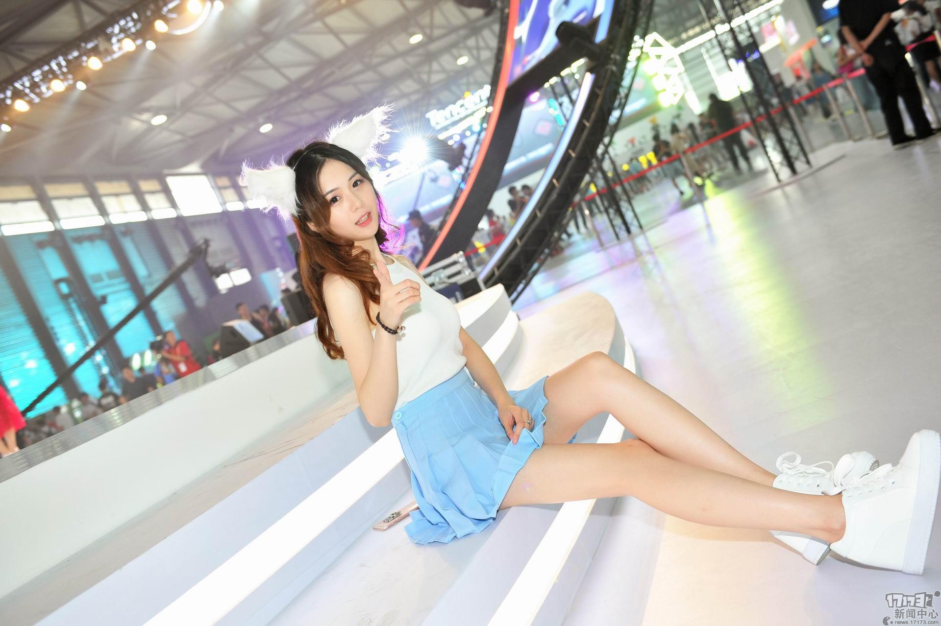 Chiêm ngưỡng loạt showgirl cực quyến rũ tại ChinaJoy 2016 - Ảnh _11