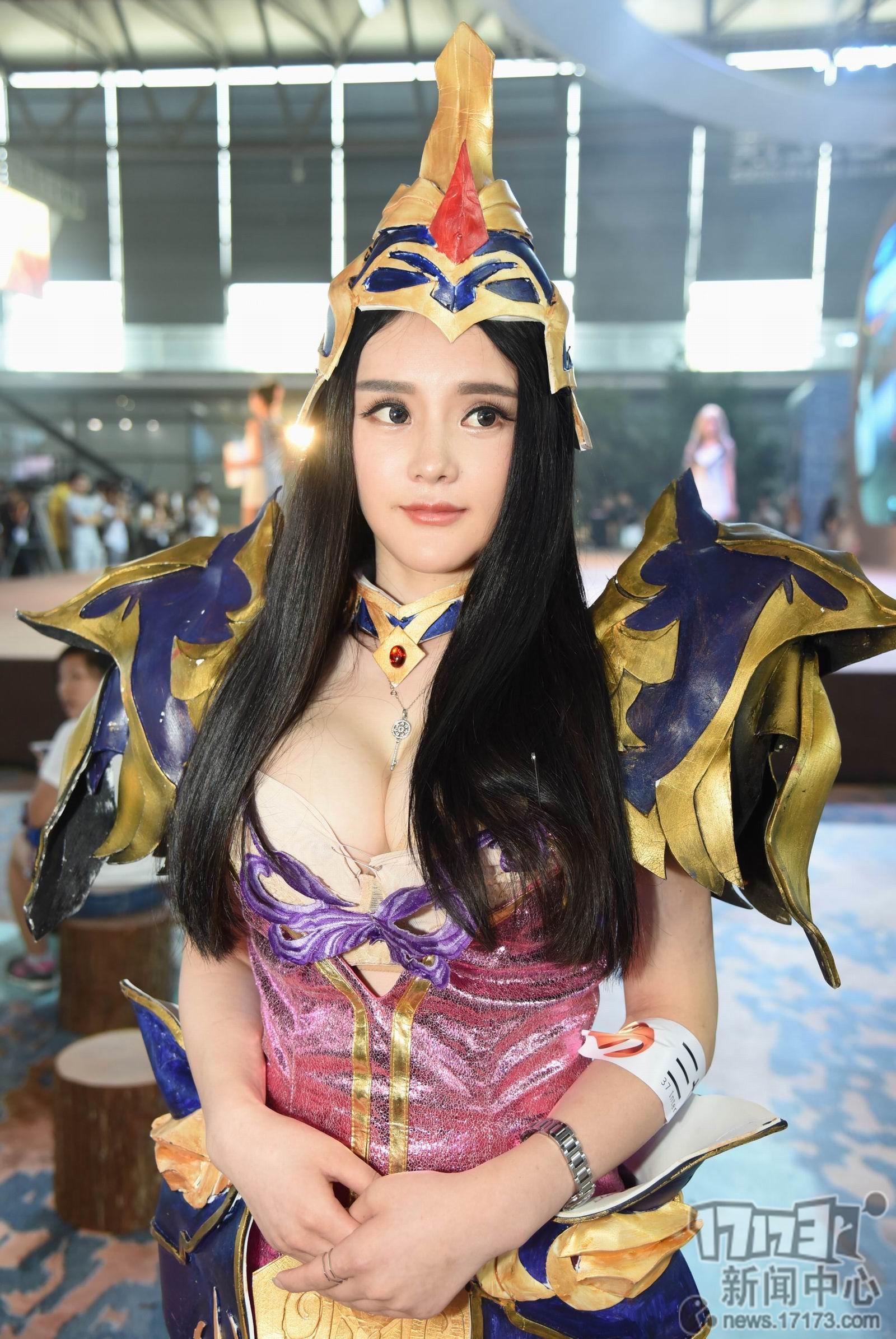 Chiêm ngưỡng loạt showgirl cực quyến rũ tại ChinaJoy 2016 - Ảnh _65