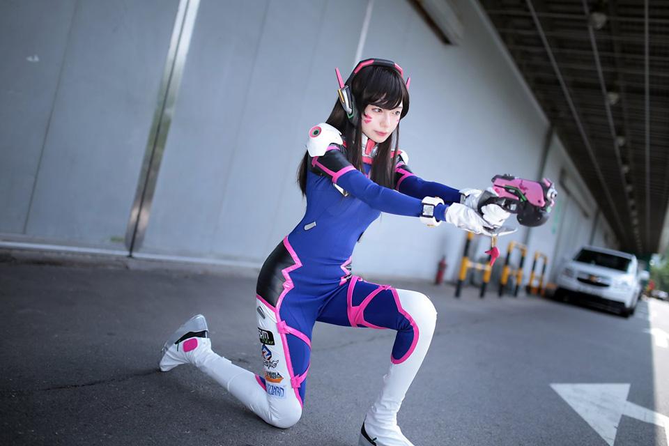 cosplay dva by zrin