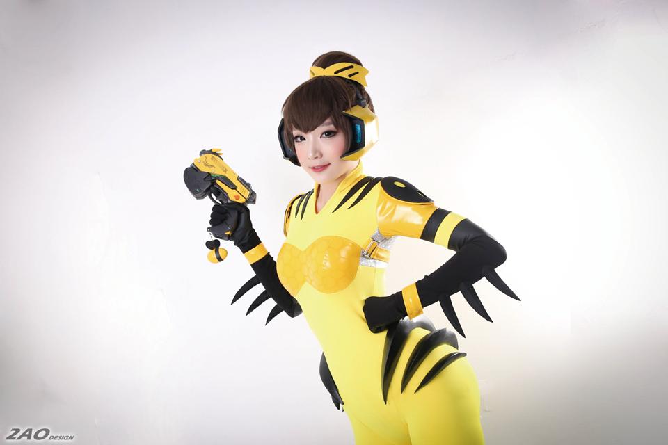 cosplay dva by miyuko