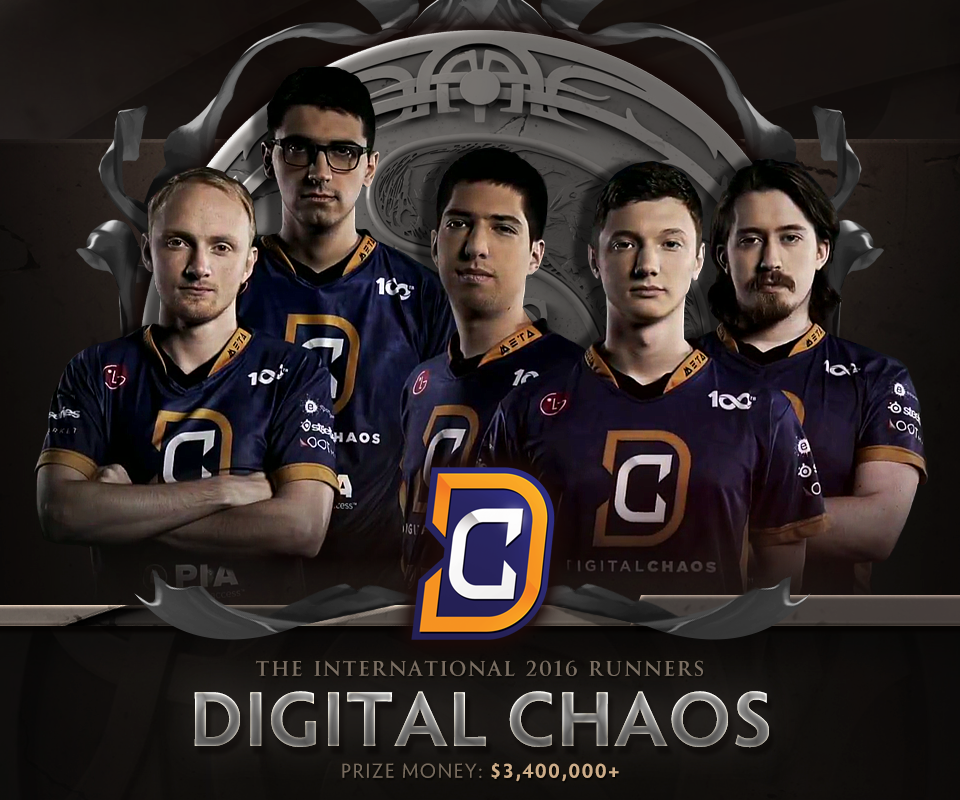 Digital Chaos, á quân The International 2016. Ảnh: Wykrhm Reddy.