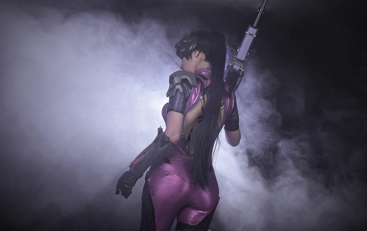 Overwatch: Reve và RZ Cos tung cosplay Widowmaker siêu ấn tượng - Ảnh 03