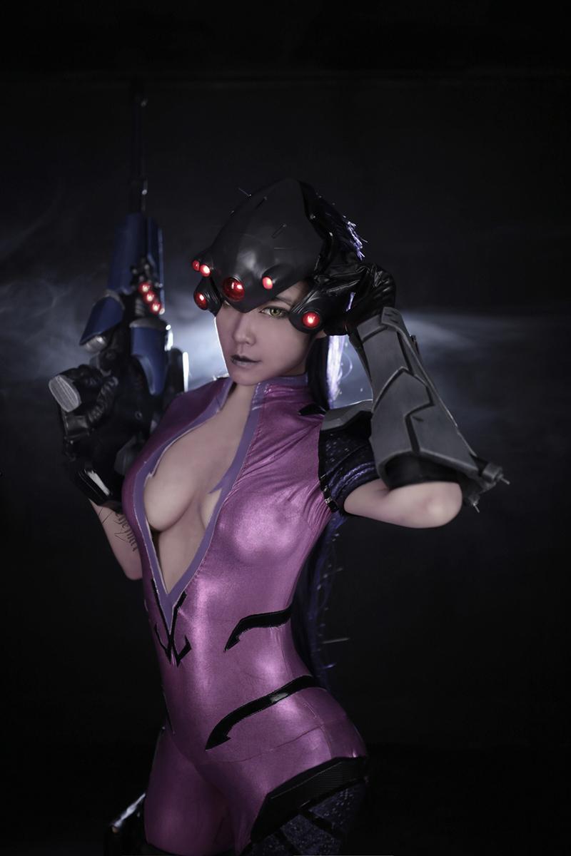 Overwatch: Reve và RZ Cos tung cosplay Widowmaker siêu ấn tượng - Ảnh 04