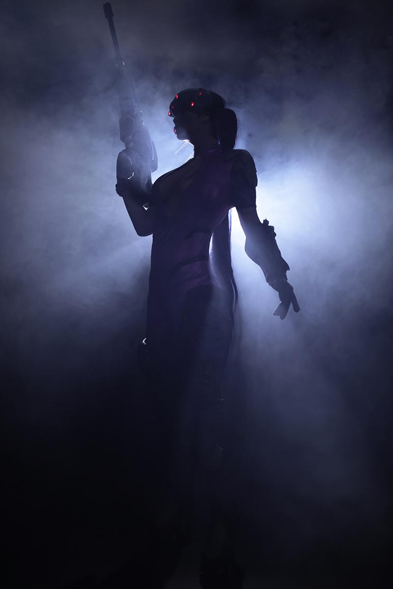 Overwatch: Reve và RZ Cos tung cosplay Widowmaker siêu ấn tượng - Ảnh 05