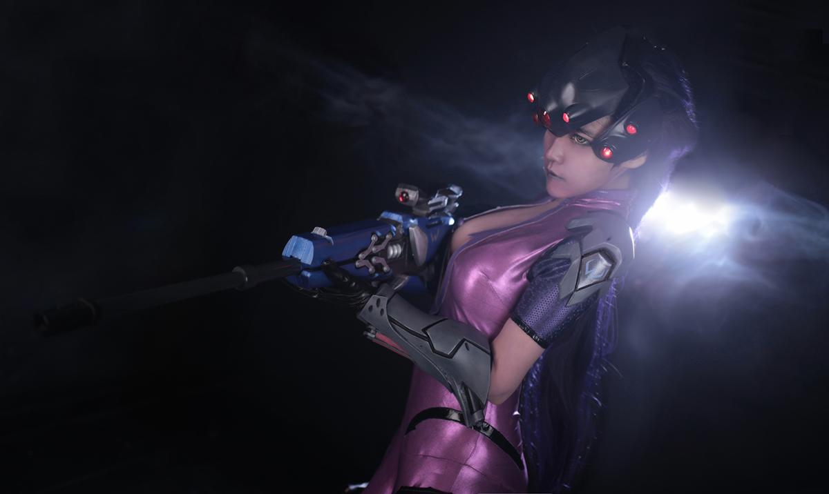Overwatch: Reve và RZ Cos tung cosplay Widowmaker siêu ấn tượng - Ảnh 06