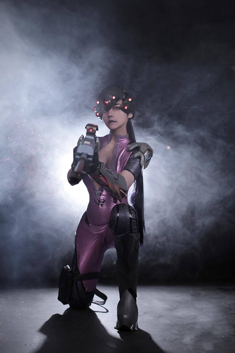 Overwatch: Reve và RZ Cos tung cosplay Widowmaker siêu ấn tượng - Ảnh 08