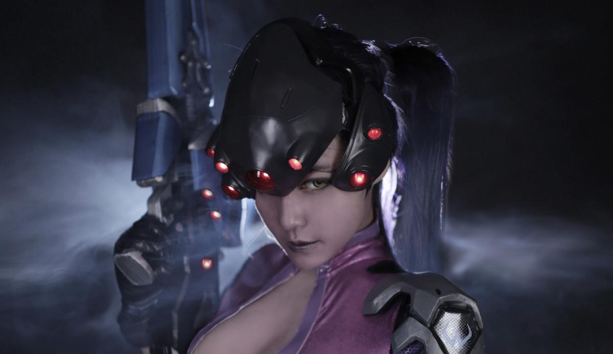 Overwatch: Reve và RZ Cos tung cosplay Widowmaker siêu ấn tượng - Ảnh 10