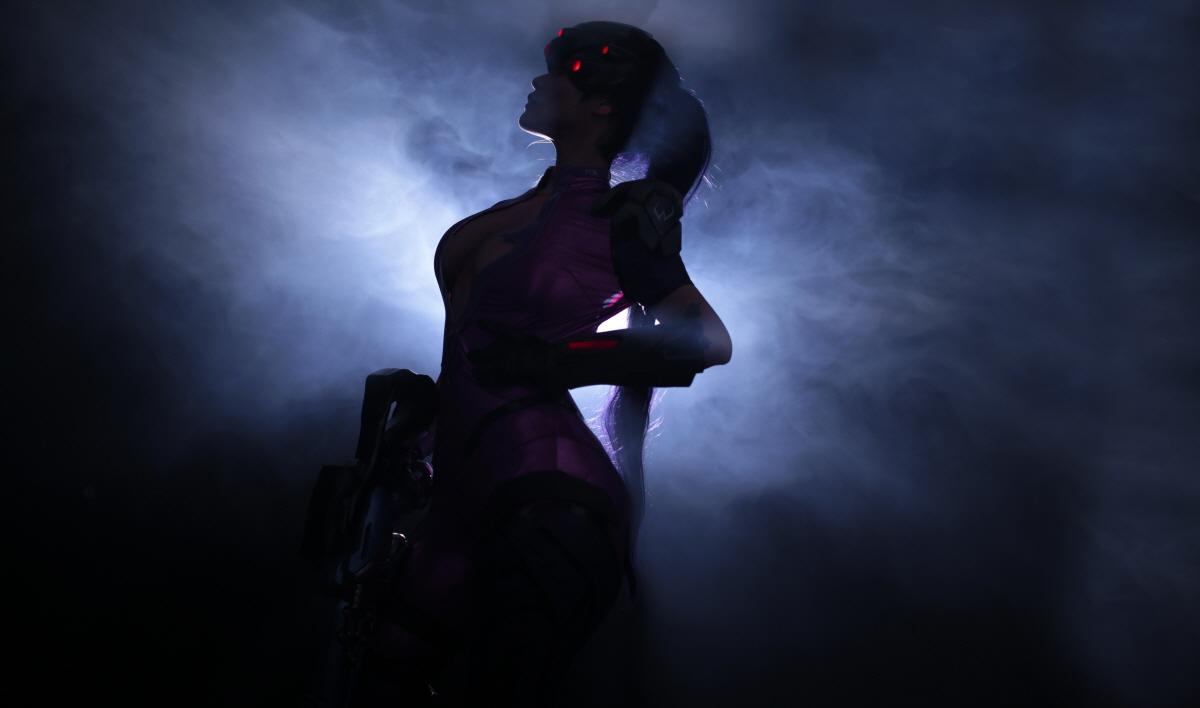 Overwatch: Reve và RZ Cos tung cosplay Widowmaker siêu ấn tượng - Ảnh 11