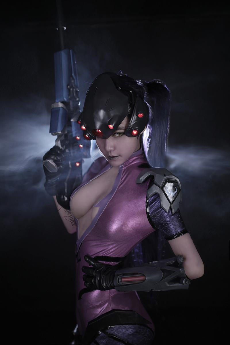 Overwatch: Reve và RZ Cos tung cosplay Widowmaker siêu ấn tượng - Ảnh 12
