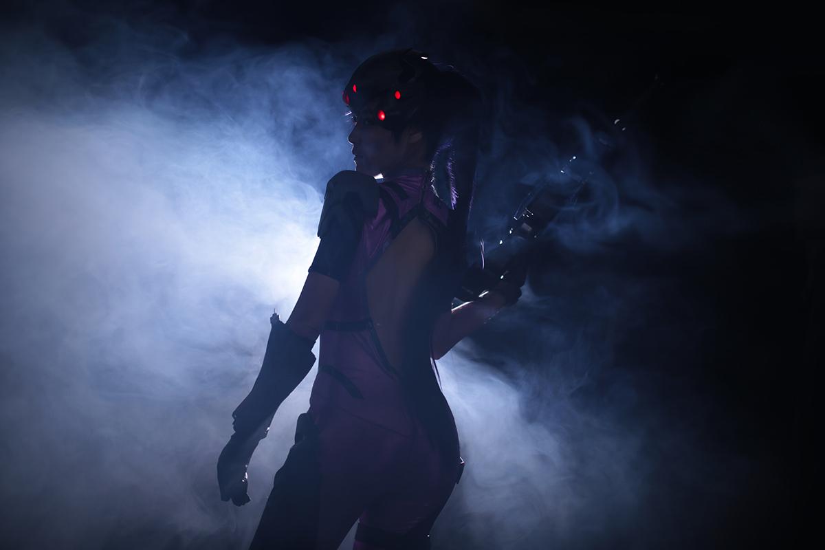 Overwatch: Reve và RZ Cos tung cosplay Widowmaker siêu ấn tượng - Ảnh 13