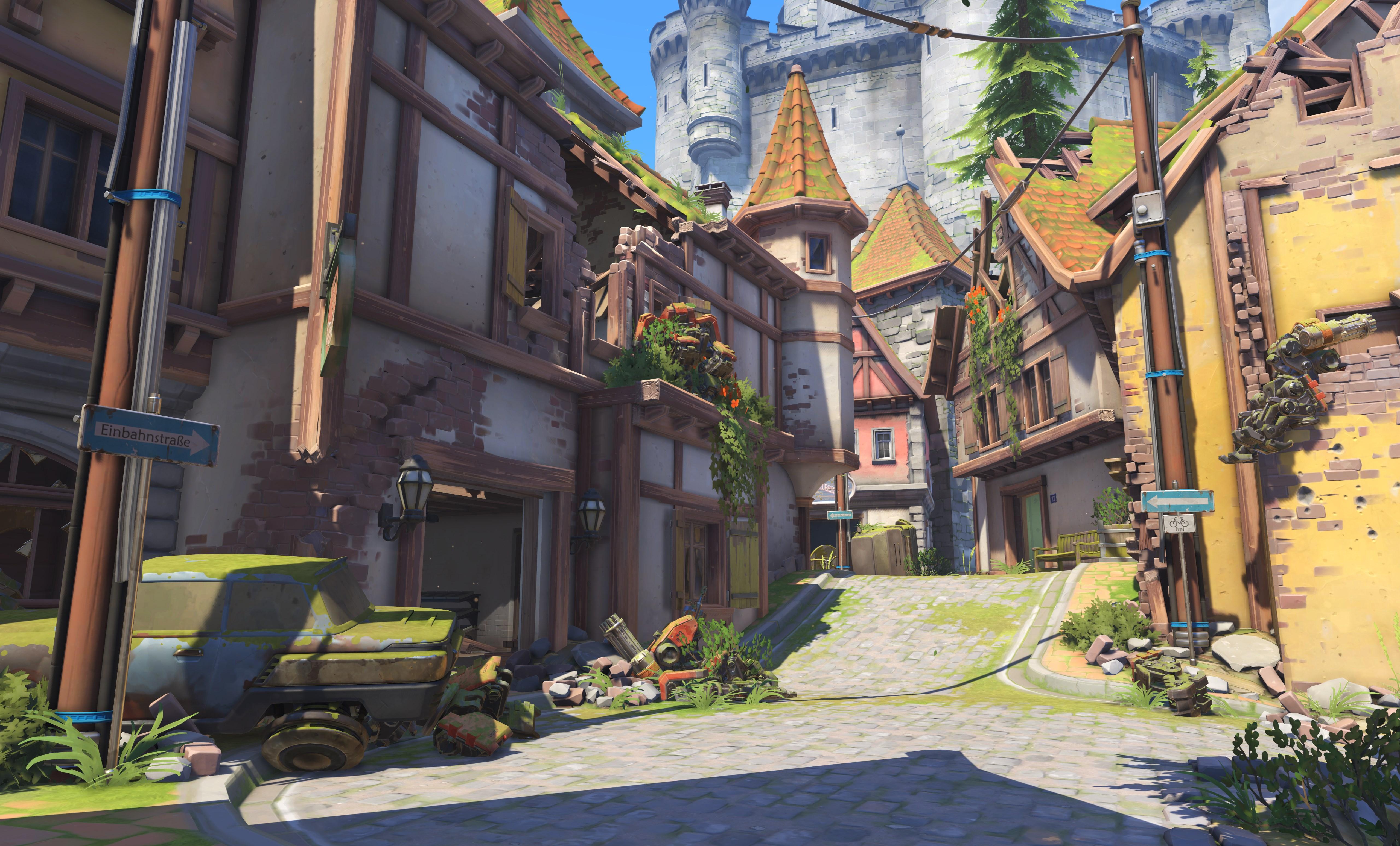 Eichenwalde là bản đồ thứ 13 của Overwatch - Ảnh 10