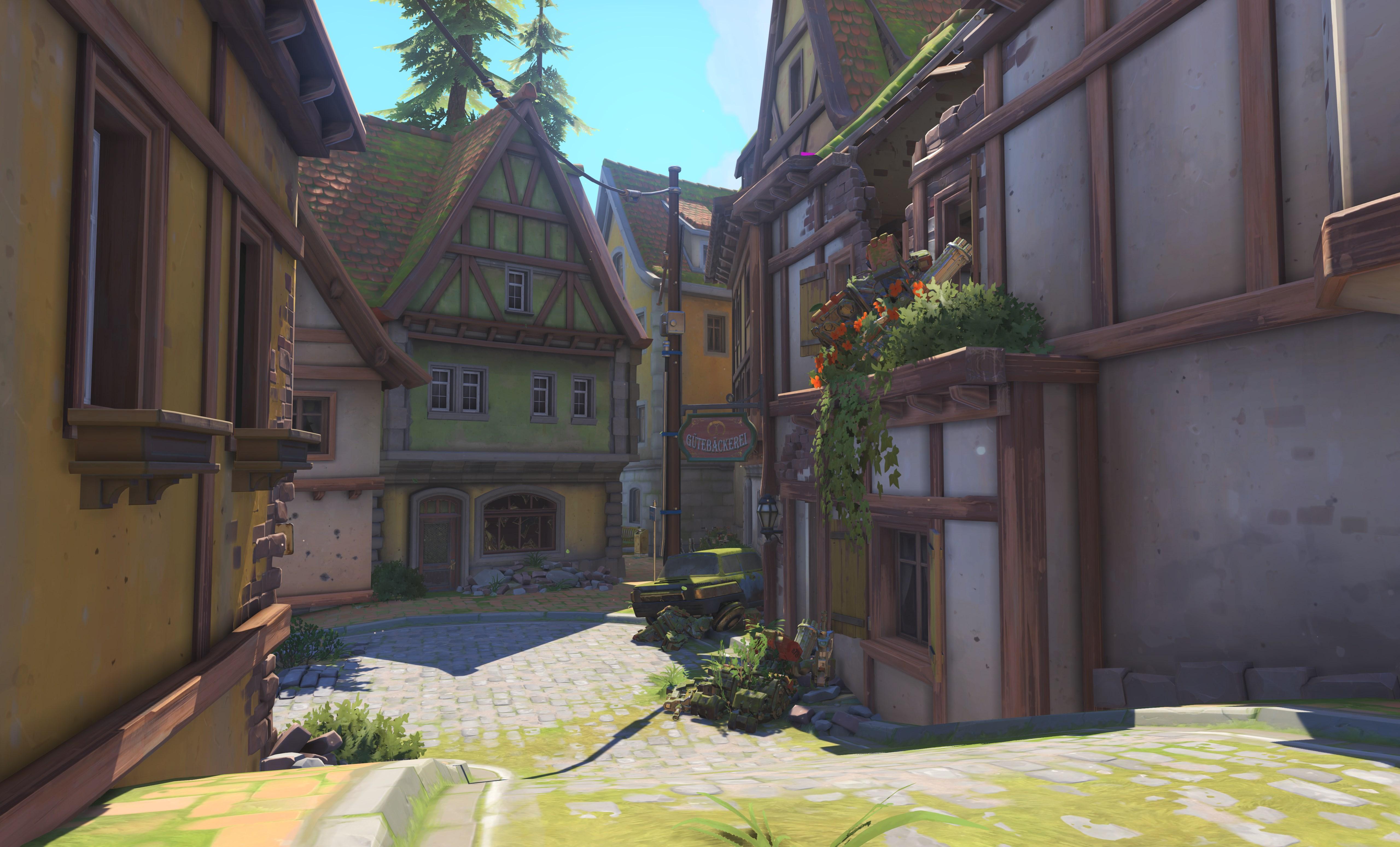 Eichenwalde là bản đồ thứ 13 của Overwatch - Ảnh 11