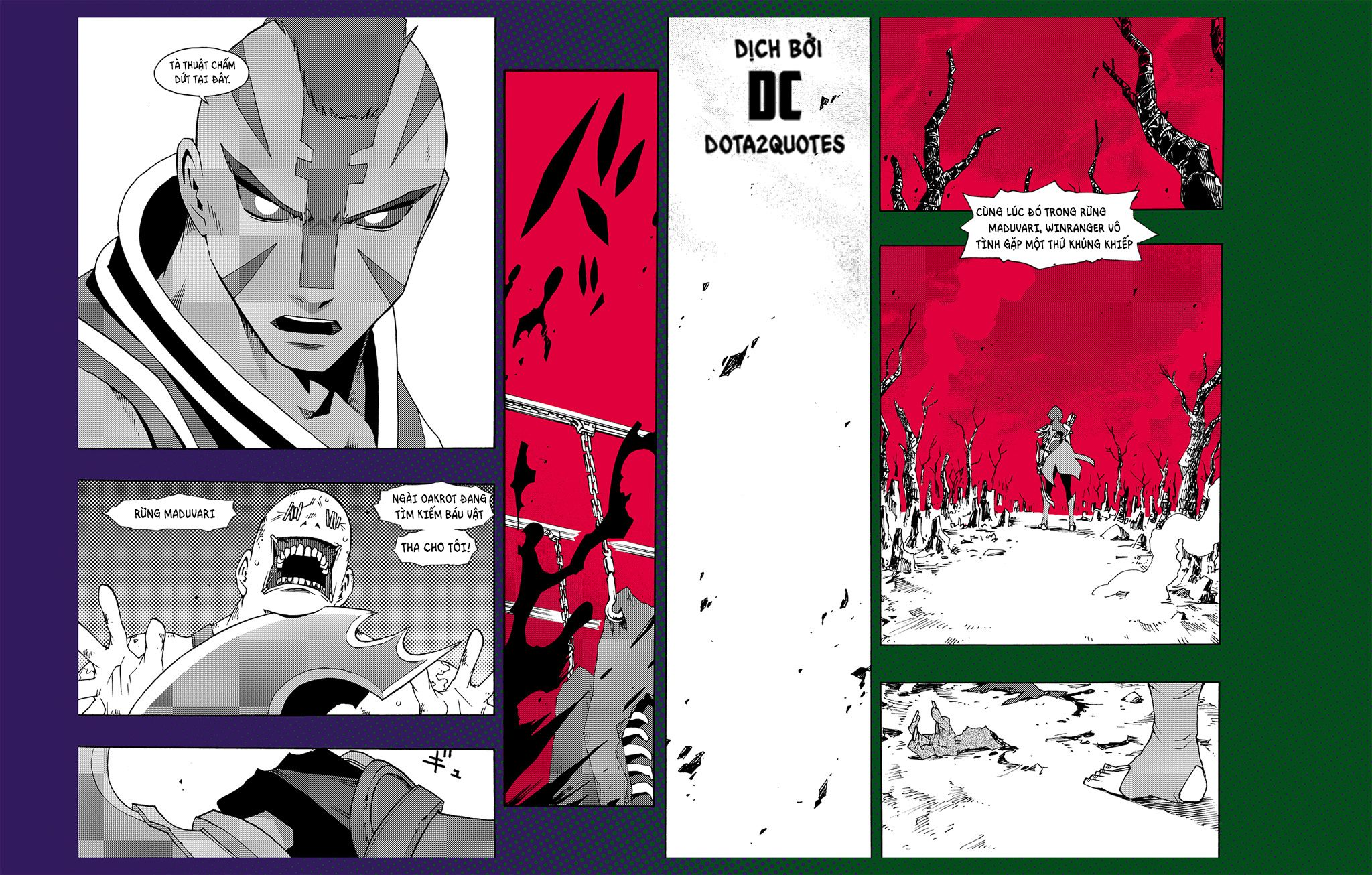 Valve trình làng truyện tranh về Anti-Mage và Windranger - A Dark Purpose Served