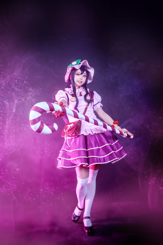Cosplay Lulu Bánh Ngọt cực ma mị của No Som - Ảnh 02