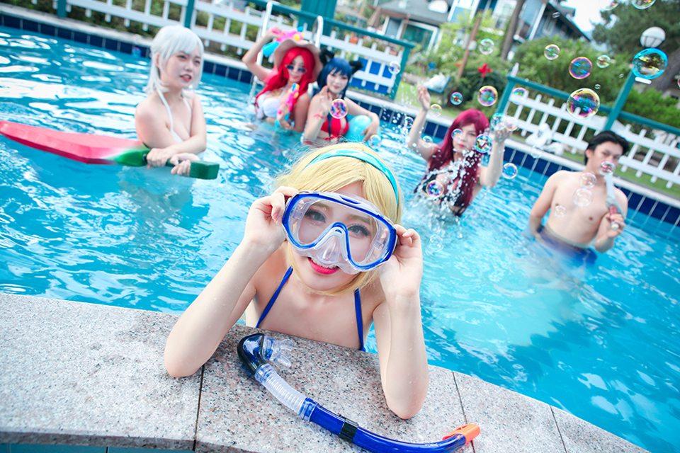 Chiêm ngưỡng cosplay Tiệc Bể Bơi cực quyến rũ của nhóm Summoner - Ảnh số 07