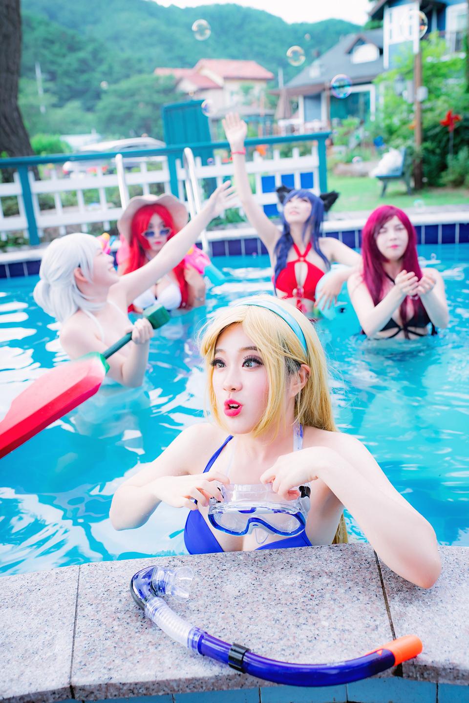 Chiêm ngưỡng cosplay Tiệc Bể Bơi cực quyến rũ của nhóm Summoner - Ảnh số 18