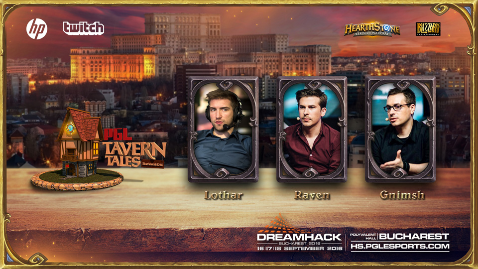 Lộ diện 16 tuyển thủ tham dự PGL Bucharest Tavern Tales 2016