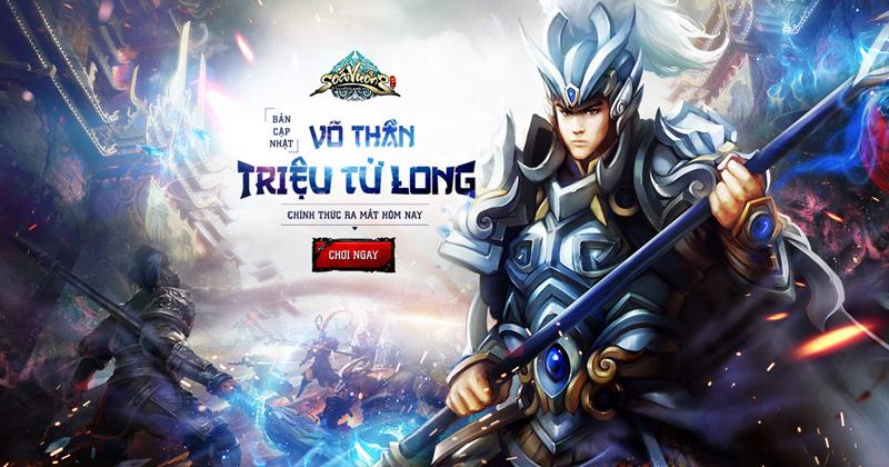 Tặng giftcode Soái Vương đón Triệu Tử Long xung trận