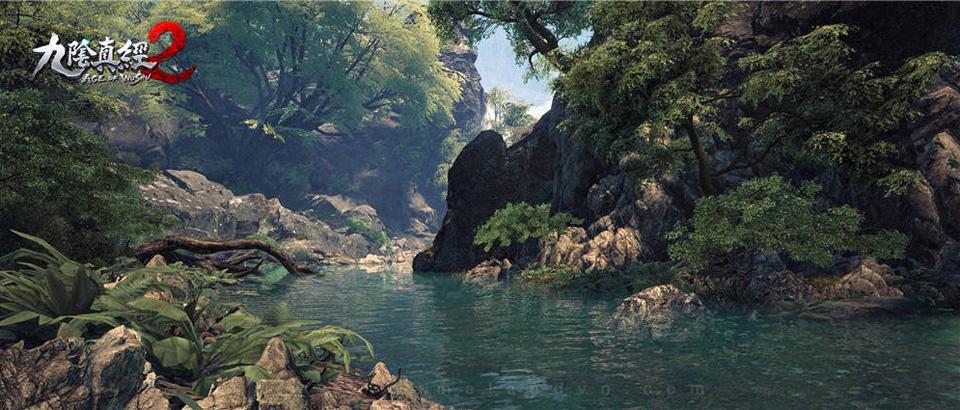 Snail Games hé lộ ảnh cây cối trong Cửu Âm Chân Kinh 2