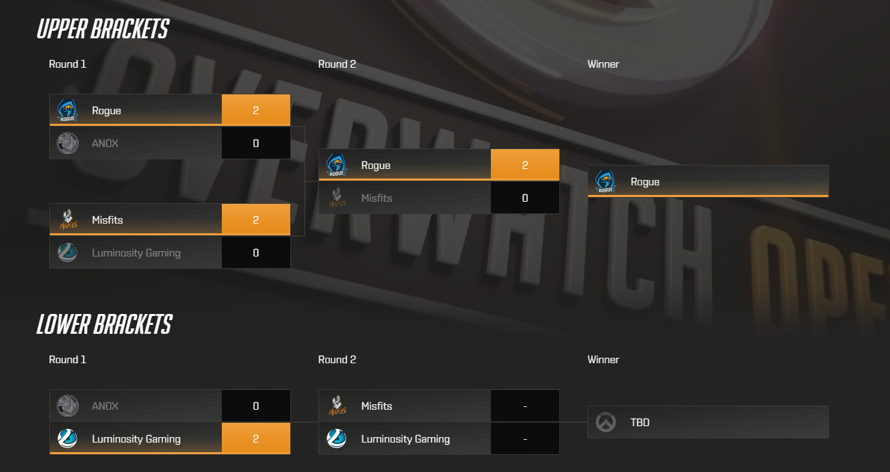 Overwatch Open: NIP và Rouge dẫn đầu vòng bảng Châu Âu