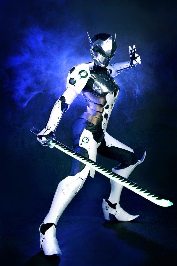Cosplay Genji của Tasha - Ảnh 02