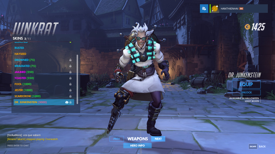Overwatch Halloween Update: Skin mới - Ảnh 42