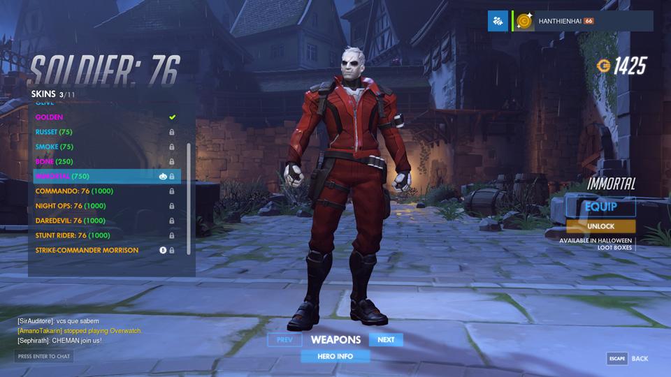 Overwatch Halloween Update: Skin mới - Ảnh 48