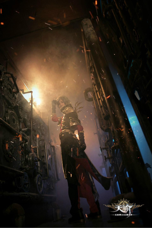 Cosplay Viêm Thiên (Gunslinger) game Thiên Dụ (Revelation Online) - Ảnh 06