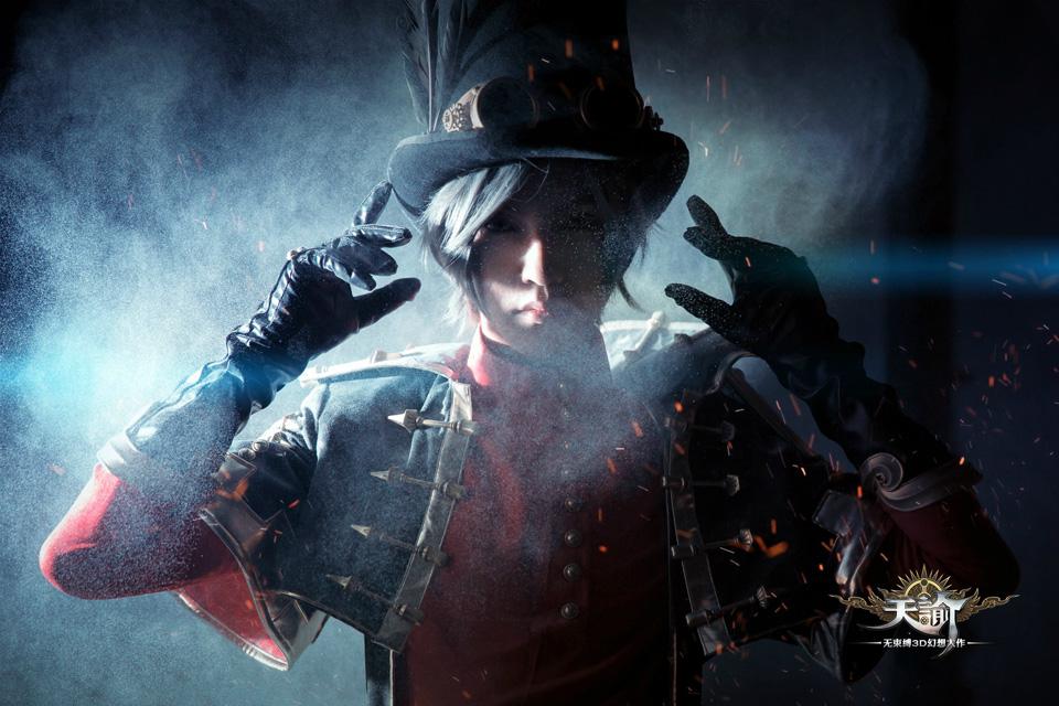 Cosplay Viêm Thiên (Gunslinger) game Thiên Dụ (Revelation Online) - Ảnh 09