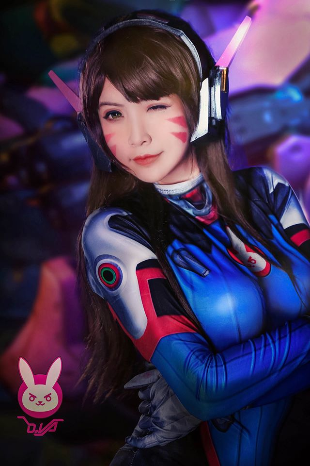 D.Va cosplay by Hana Dinh - 04