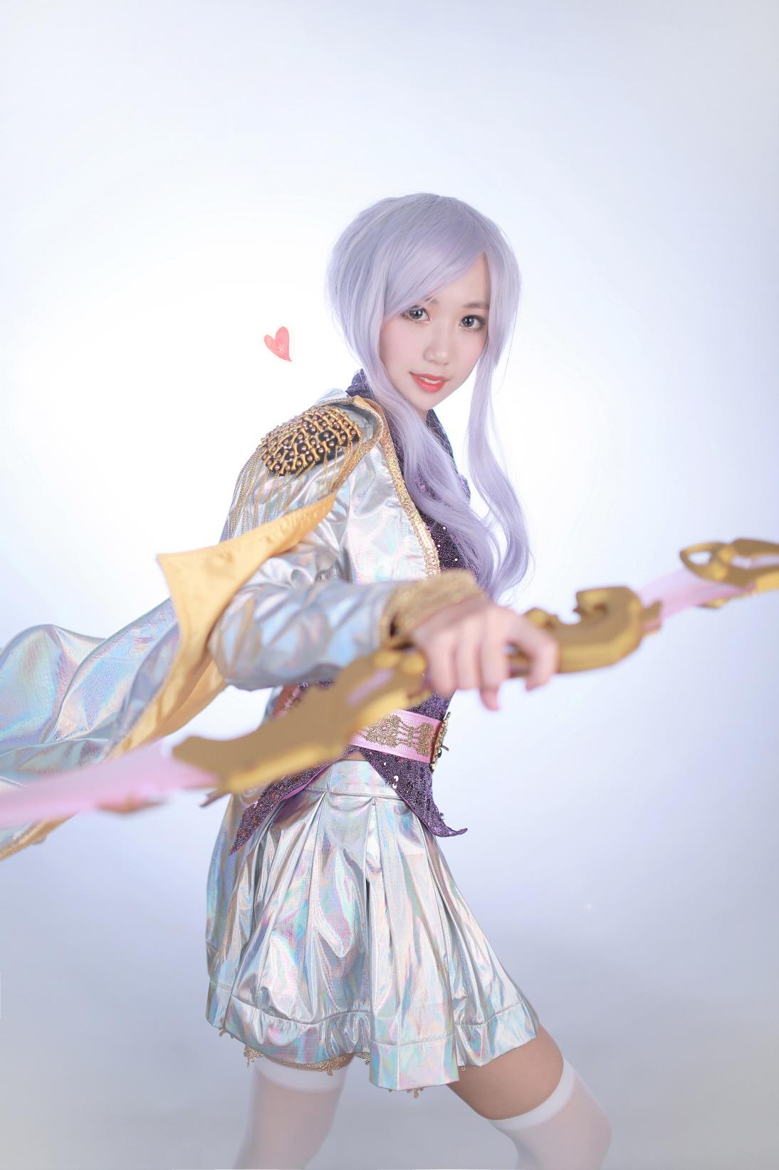 Cosplay Ashe Thần Tượng Âm Nhạc của Lee Eun - 02