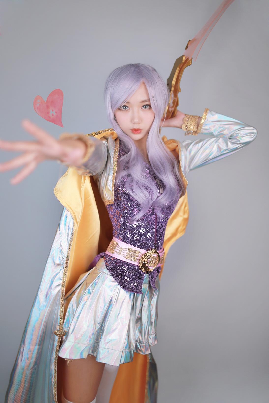 Cosplay Ashe Thần Tượng Âm Nhạc của Lee Eun - 10