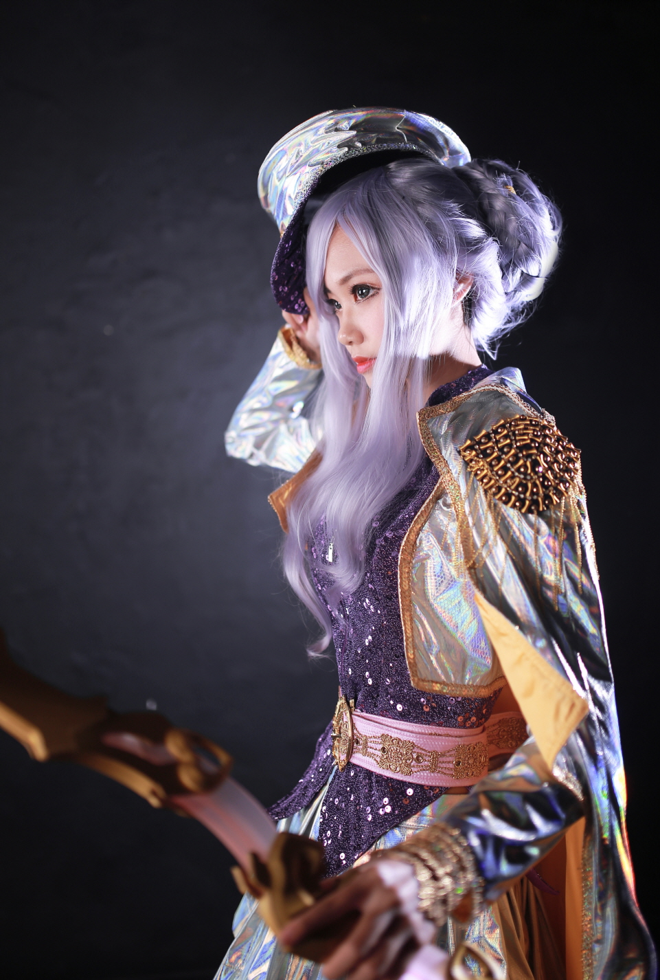Cosplay Ashe Thần Tượng Âm Nhạc của Lee Eun - 11