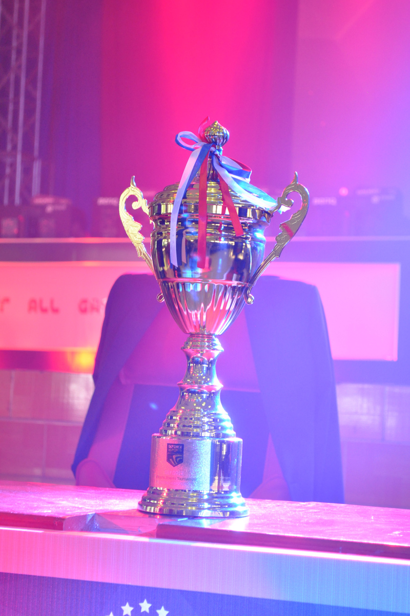 Cúp vô địch GeForce eSports Extreme Tournament.