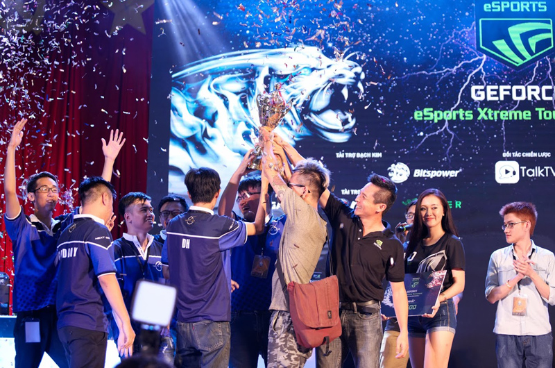 Next Generation đăng quang vô địch GeForce eSports Extreme Tournament.